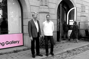 Jocke och Calle har pop-up-utställning i Wetterling Gallery