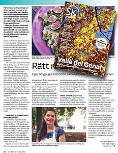 Artikel om IngerGinger i spanska magasinet Sydkusten
