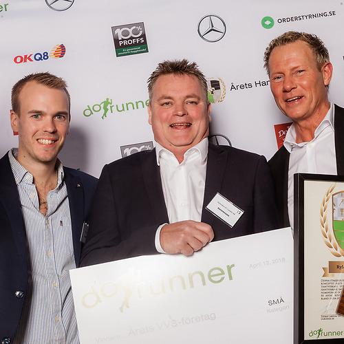 Rylanders VVS i Lysekil AB - Vinnare av priset Årets Små VVS Företag 2018!