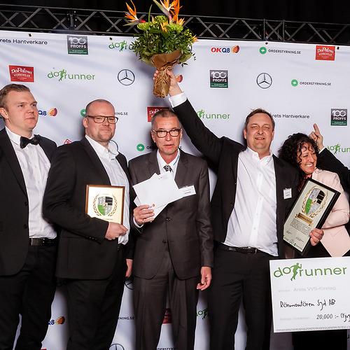 Rör Montören Syd AB - Vinnare av priset Årets Stora VVS-Företag 2018!