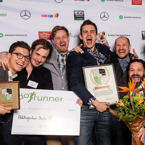 Elektropartner Nacka AB - Vinnare av priset Årets Medelstora El-företag 2018!