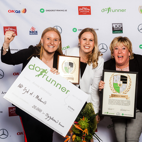 AB Syd el i Malmö - Vinnare av priset Årets Stora El-företag 2018!