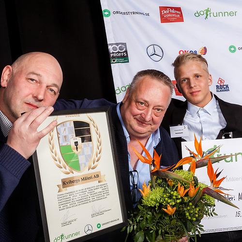 Kvibergs Måleri AB - Vinnare av priset Årets Medelstora Måleriföretag 2018!