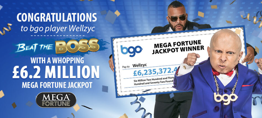 BGO PLAYER WINS OVER £6.2 MILLION