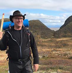 Vandraren Sten Danielsson – Rombovallen sommaren 2019