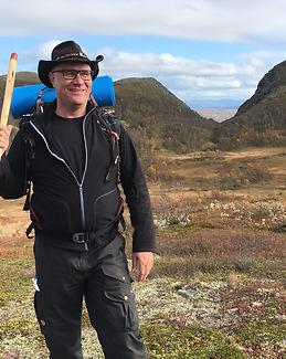 Vandraren Sten Danielsson – Rombovallen Lofsdalen