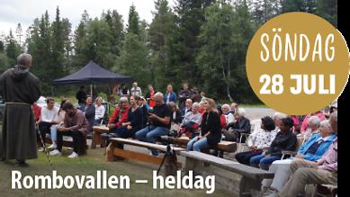 Kulturdagarna i Lofsdalen – söndag 28 juli – Rombovallen