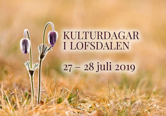 Kulturdagar i Lofsdalen juli 2019