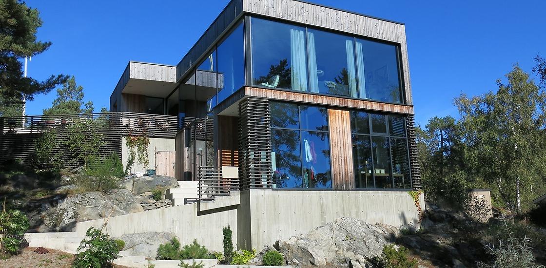 modernt glashus stockholm platser
