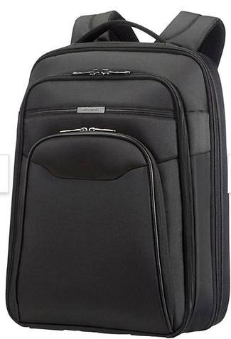 Samsonite Desklite klassisk laptop-ryggsäck med bra fack