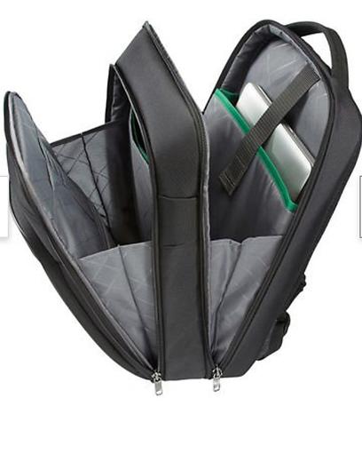 Samsonite Desklite laptop-ryggsäck invändigt