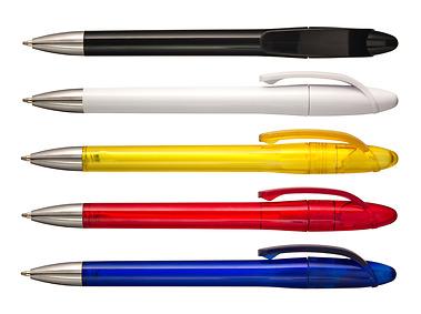 Pennor Chilli blå,röd,gul,vit och svart en av många pennor som ni hittar hos Ålvi