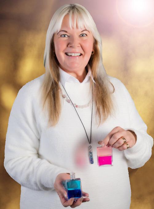 Silvi Kranig Olsson certifierad Aura-Somaterapeut och Aura-Somalärare