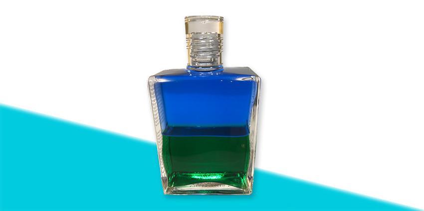 Aura-Soma-olja nr 3 – Atlantis-blå/grön