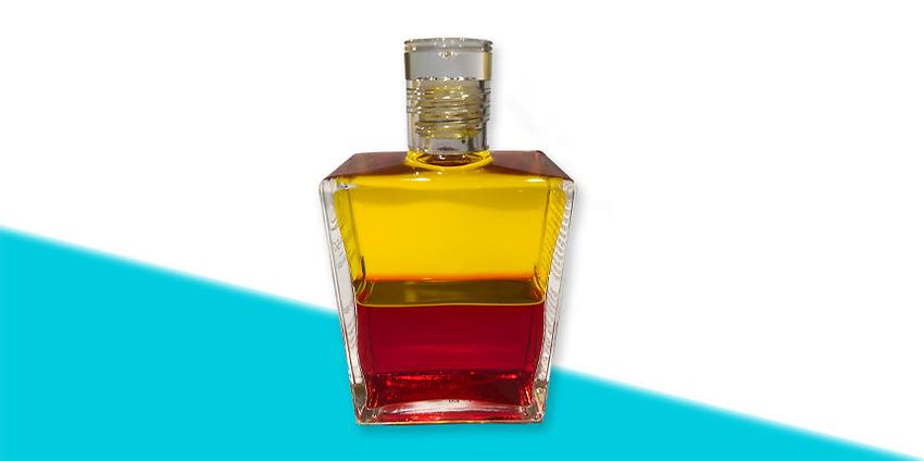 Aura-Soma-olja  nr 5 Gul/Röd