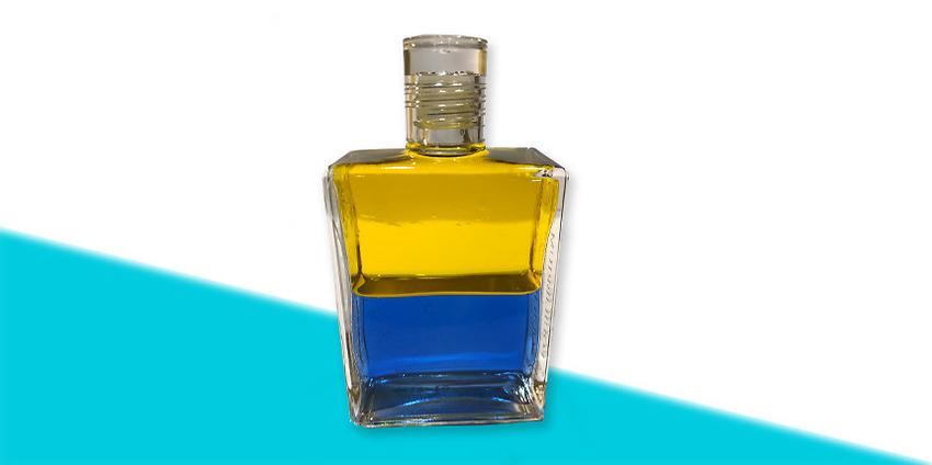 Olja nr 8 Gul/Blå