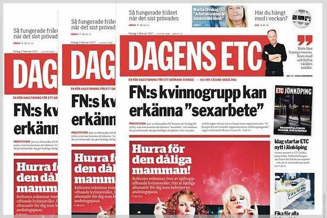 Dagens ETC, ett snabbväxande mediehus – Valenta Sales